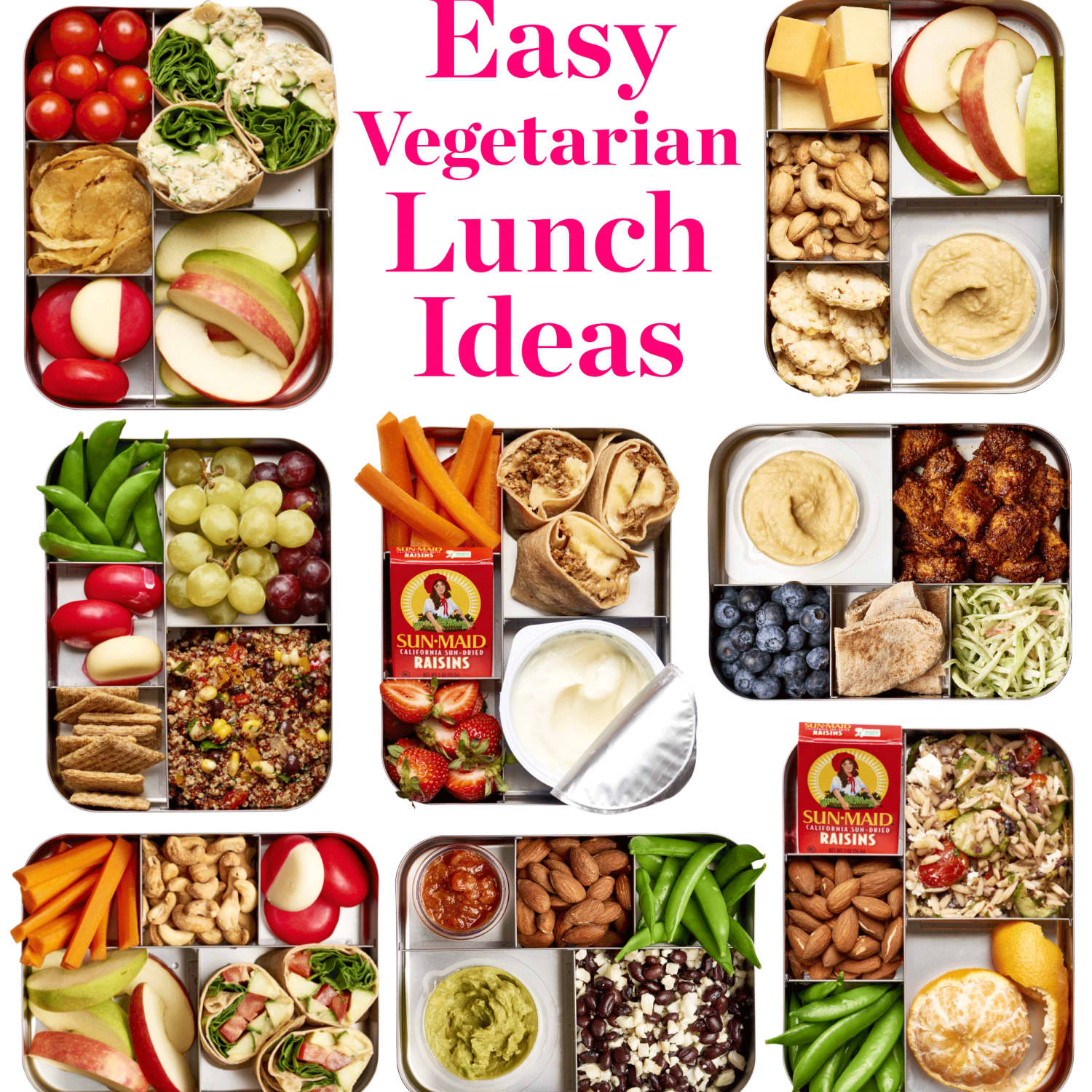Easy Vegetarian Lunch Ideas Kitchn