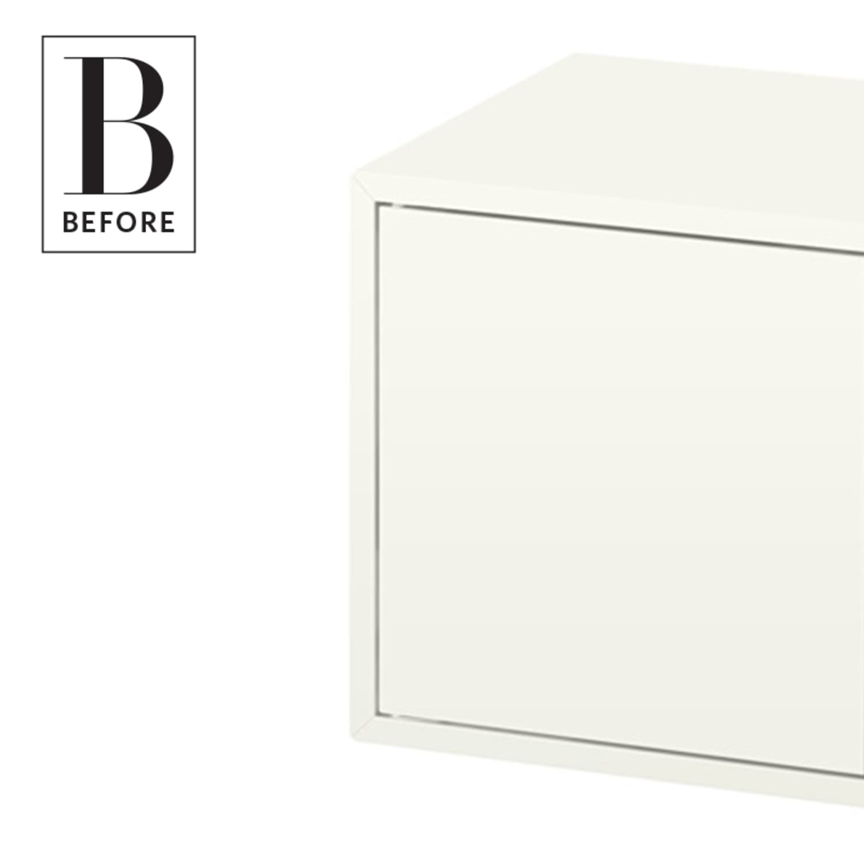 Ikea Hack Turn Eket Cabinets Into A Bar Cart Or Bedside Table