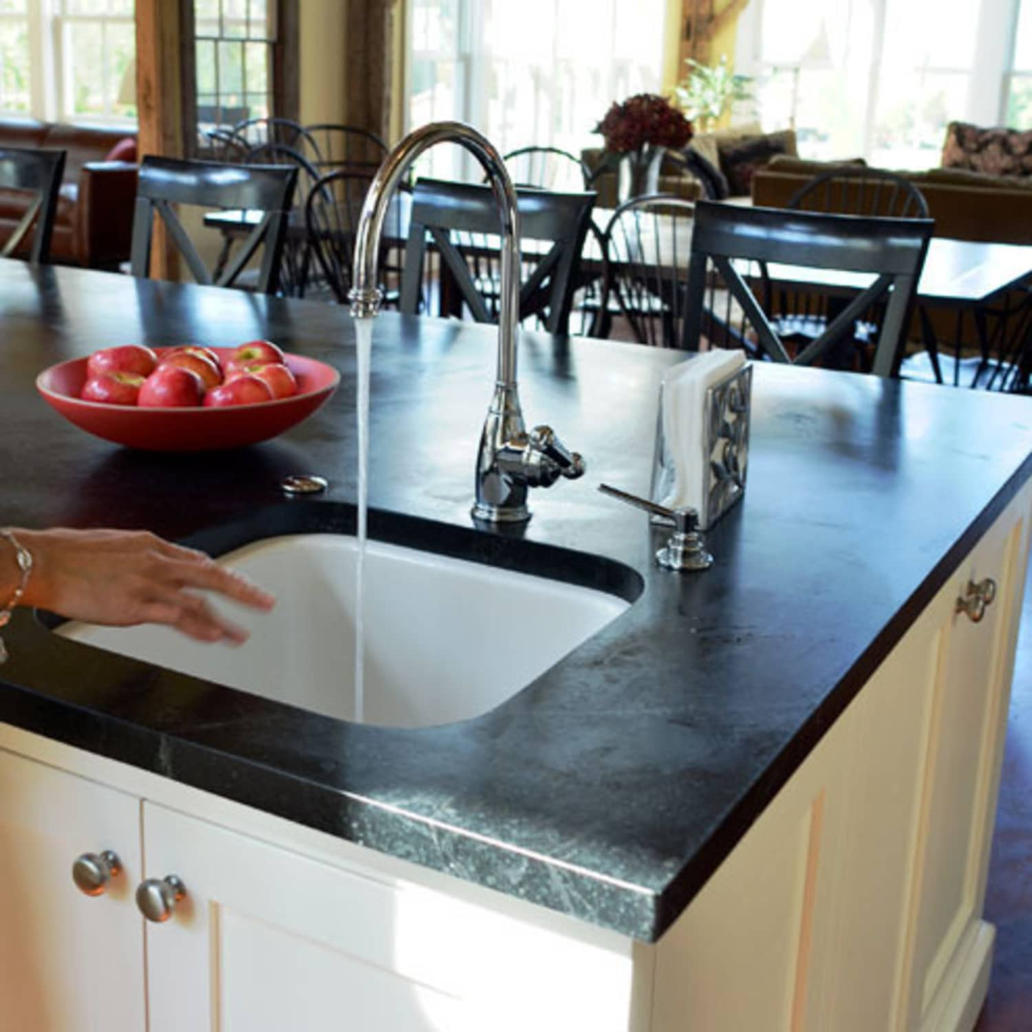 All About: Soapstone Countertops