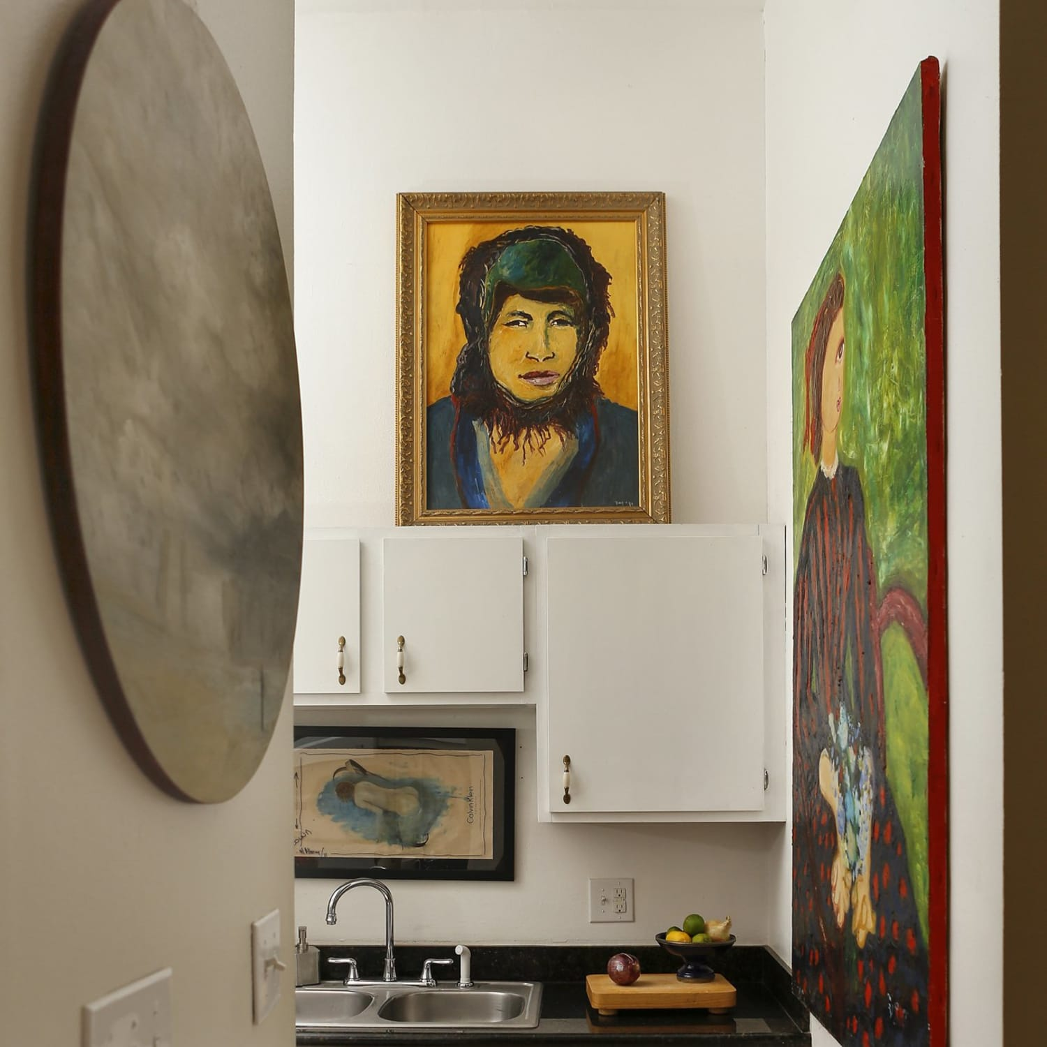Making A Simple Kitchen Sing Large Artwork In The Kitchen Kitchn