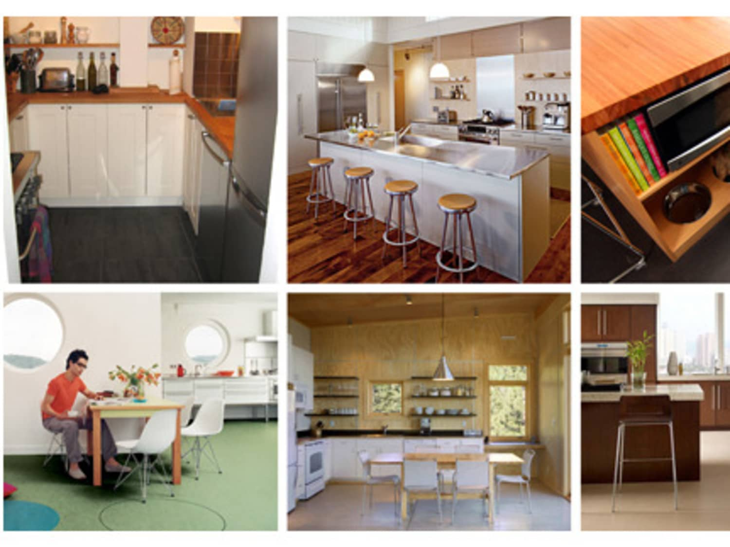 Easy Clean Kitchen Flooring Choices Apartment Therapy