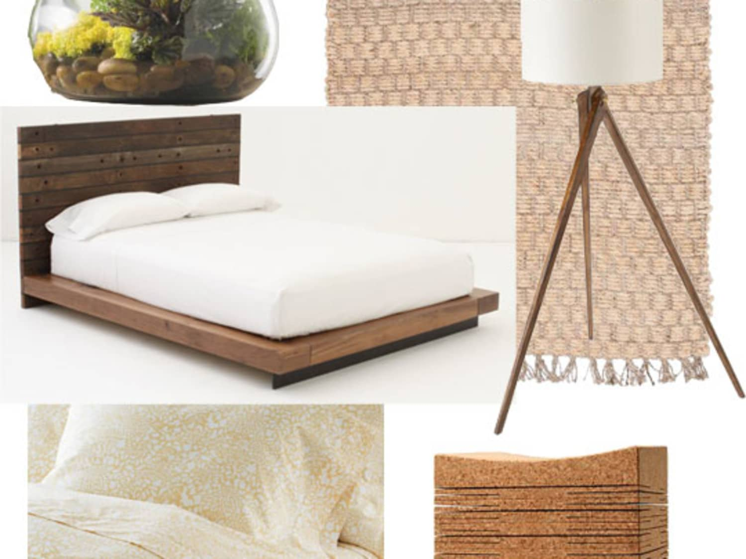 One Design Two Budgets Organic Modern Bedroom Apartment