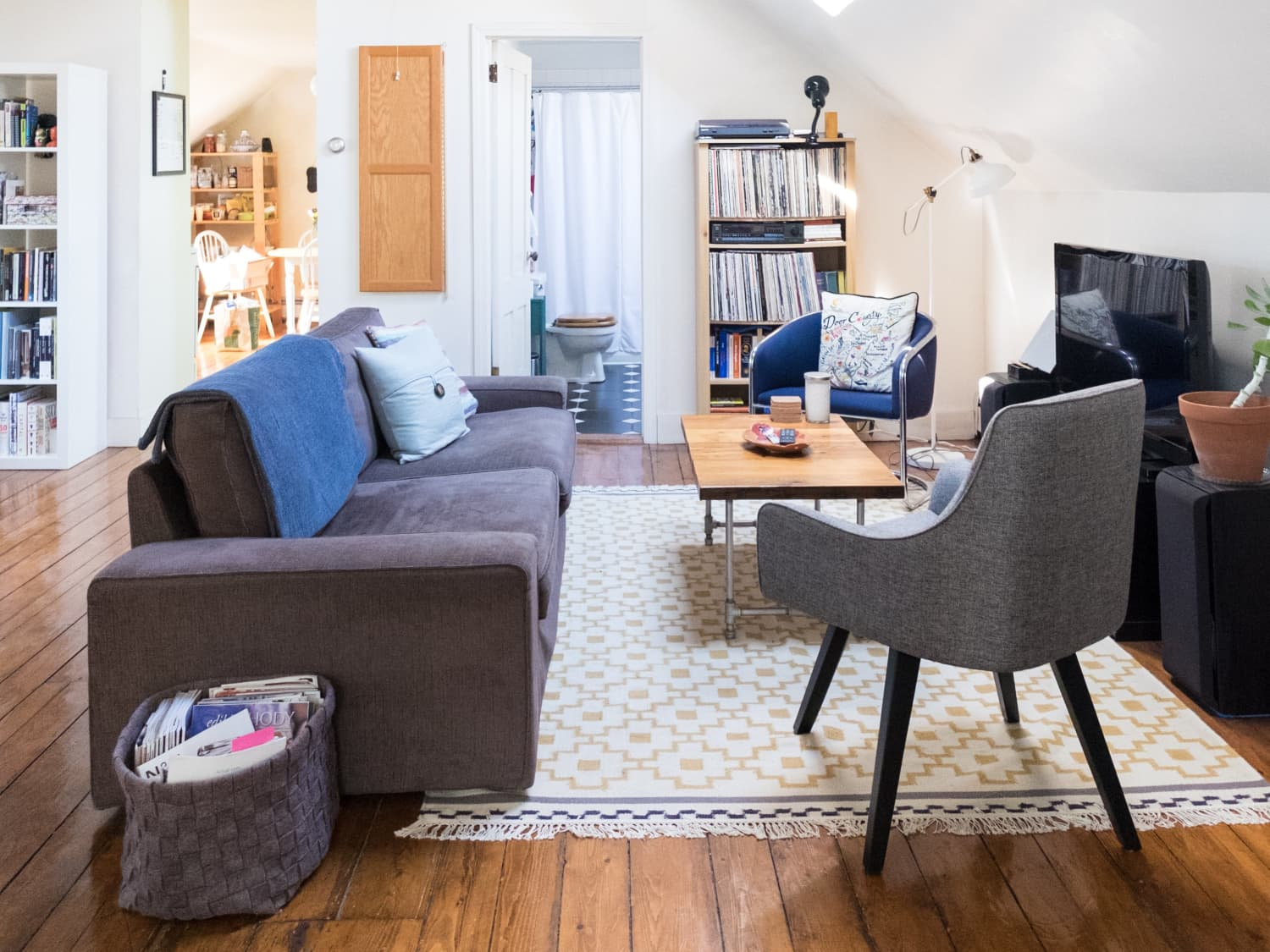 House Tour: Airy Attic Apartment in Providence | Apartment Therapy