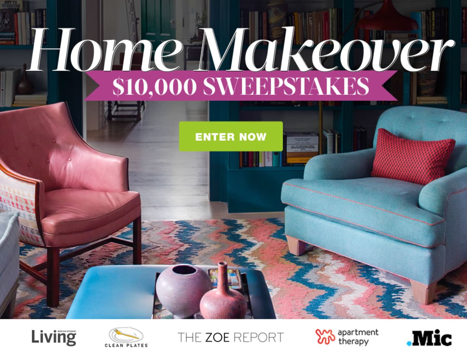 Enter to Win: $10,000 Home Makeover Spree | Apartment Therapy