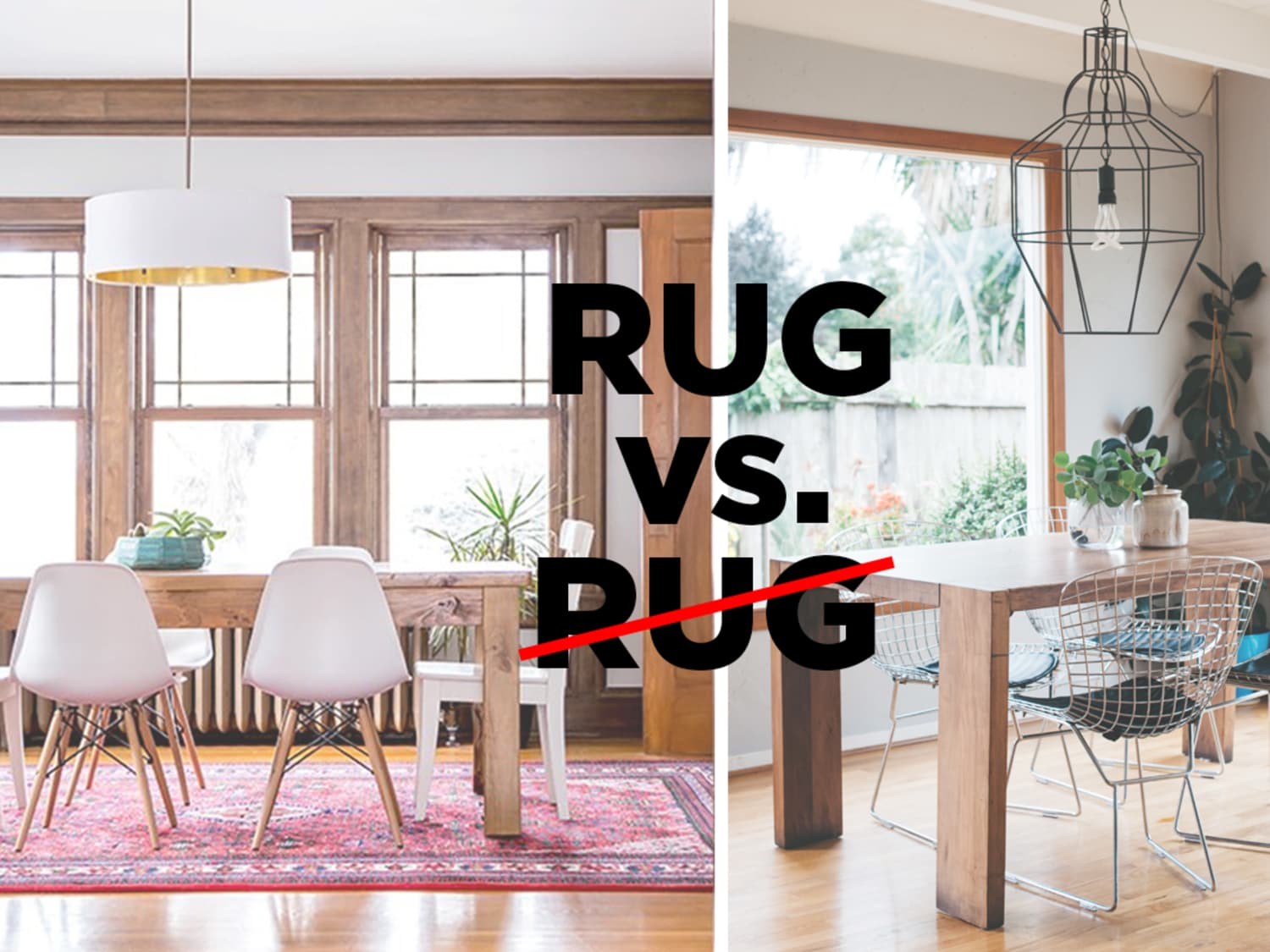 Let\'s Settle This: Do Rugs Belong in The Dining Room ...