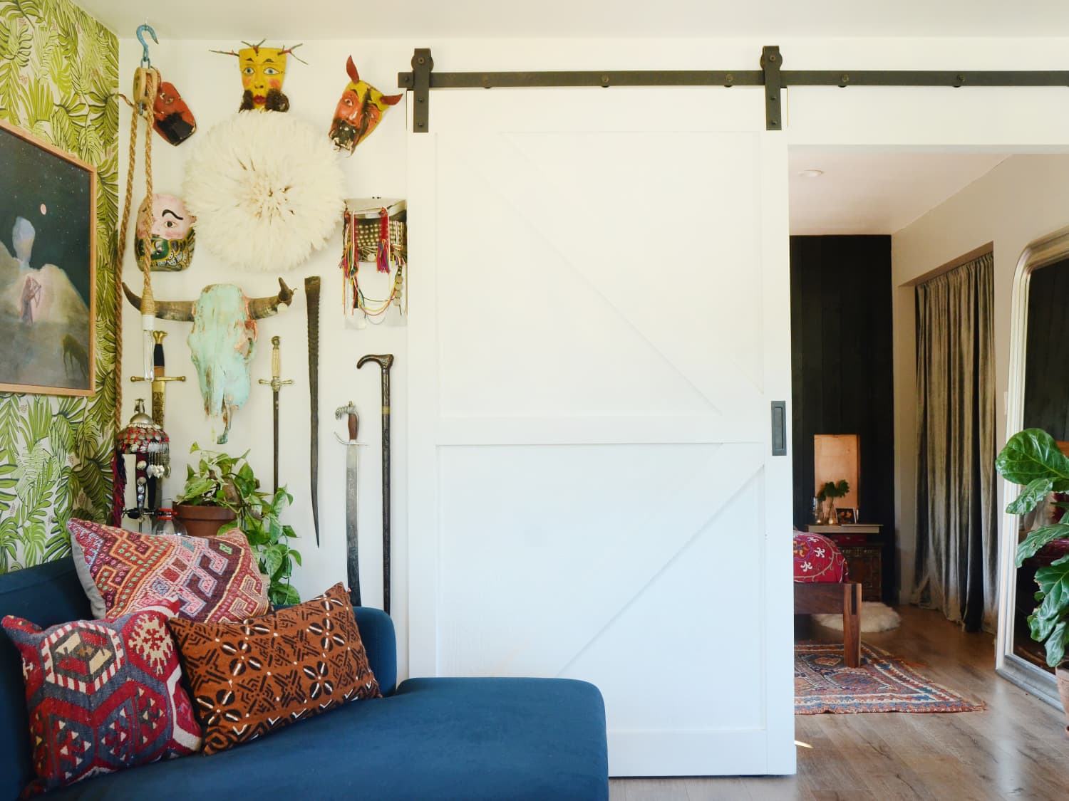 The Pros and Cons of the Sliding Barn Door Trend | Apartment