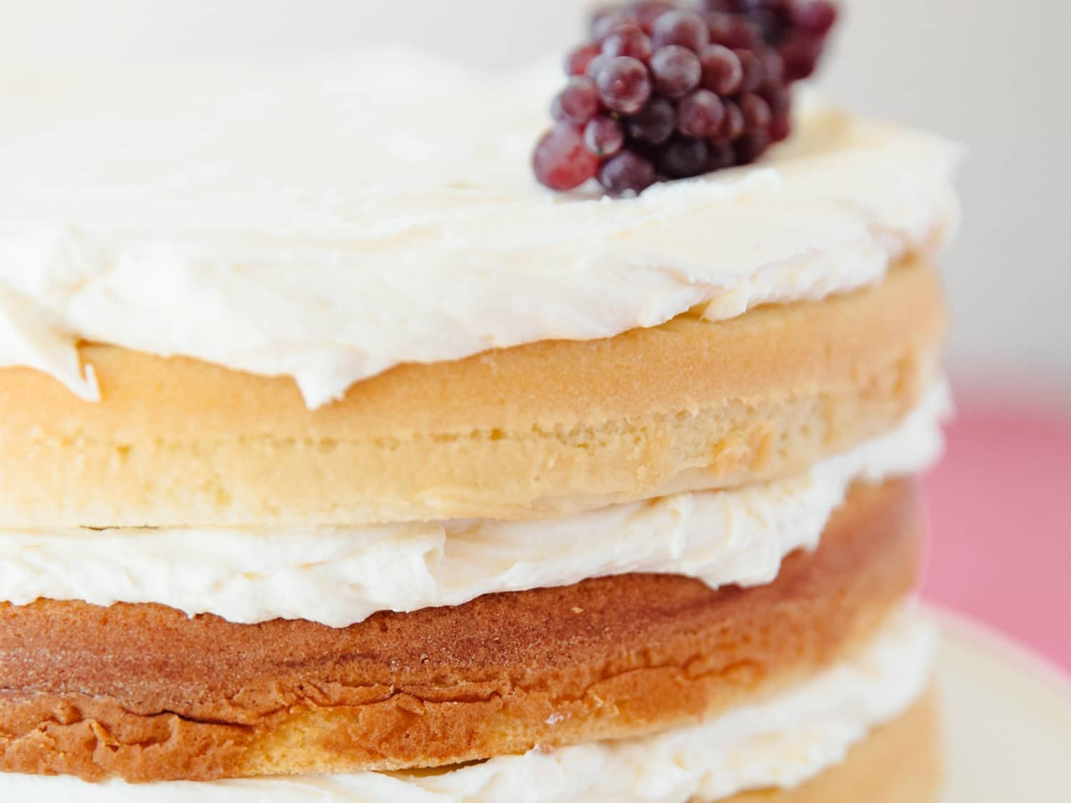 How To Make a Basic Butter Cake from Scratch