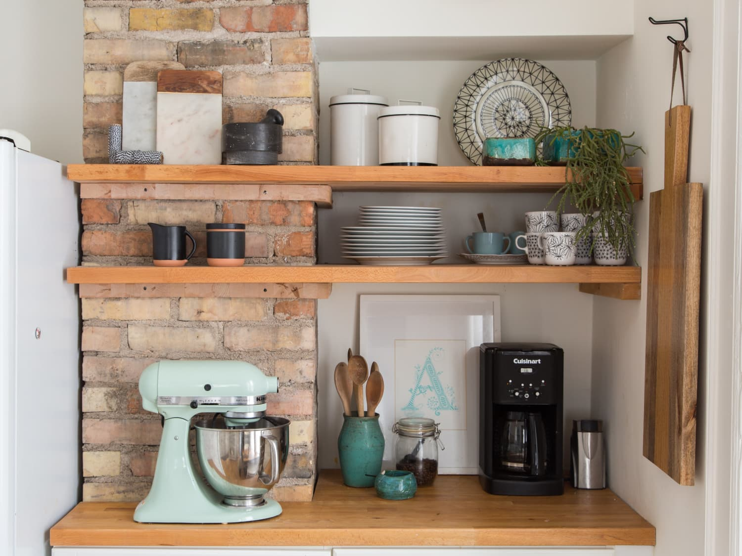 5 of the Most Gorgeous Tiny Kitchens with Open Shelving | Kitchn