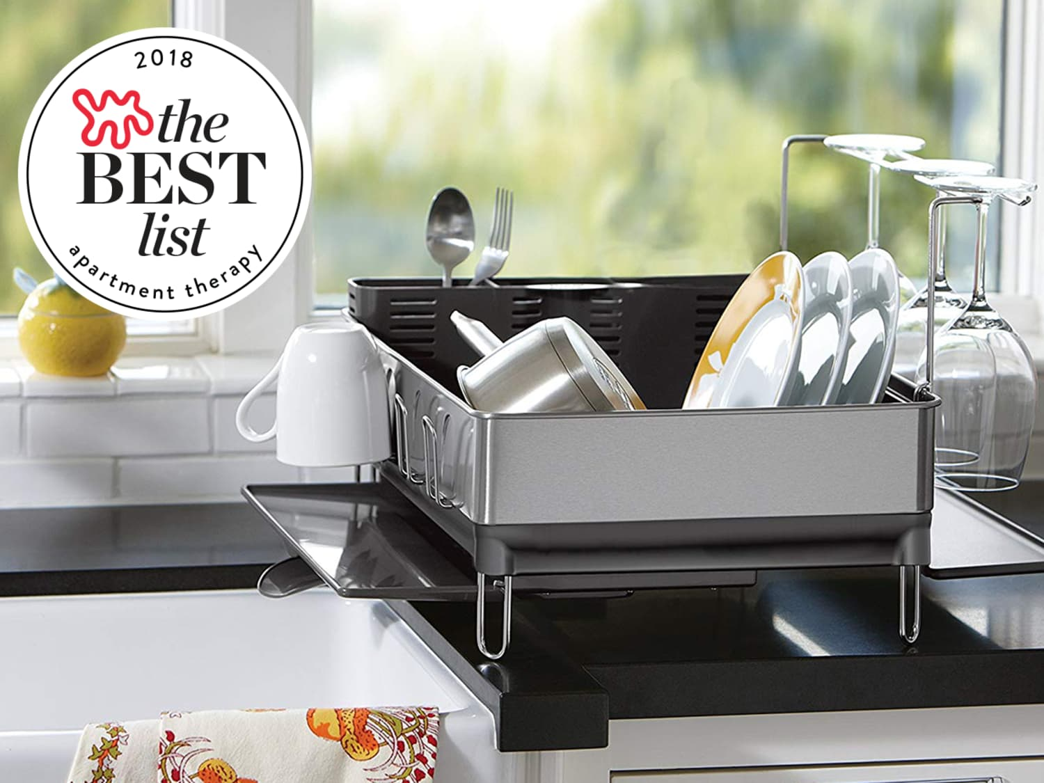 aecd2a78c2ba The Best Dish Racks to Buy in 2019 | Apartment Therapy