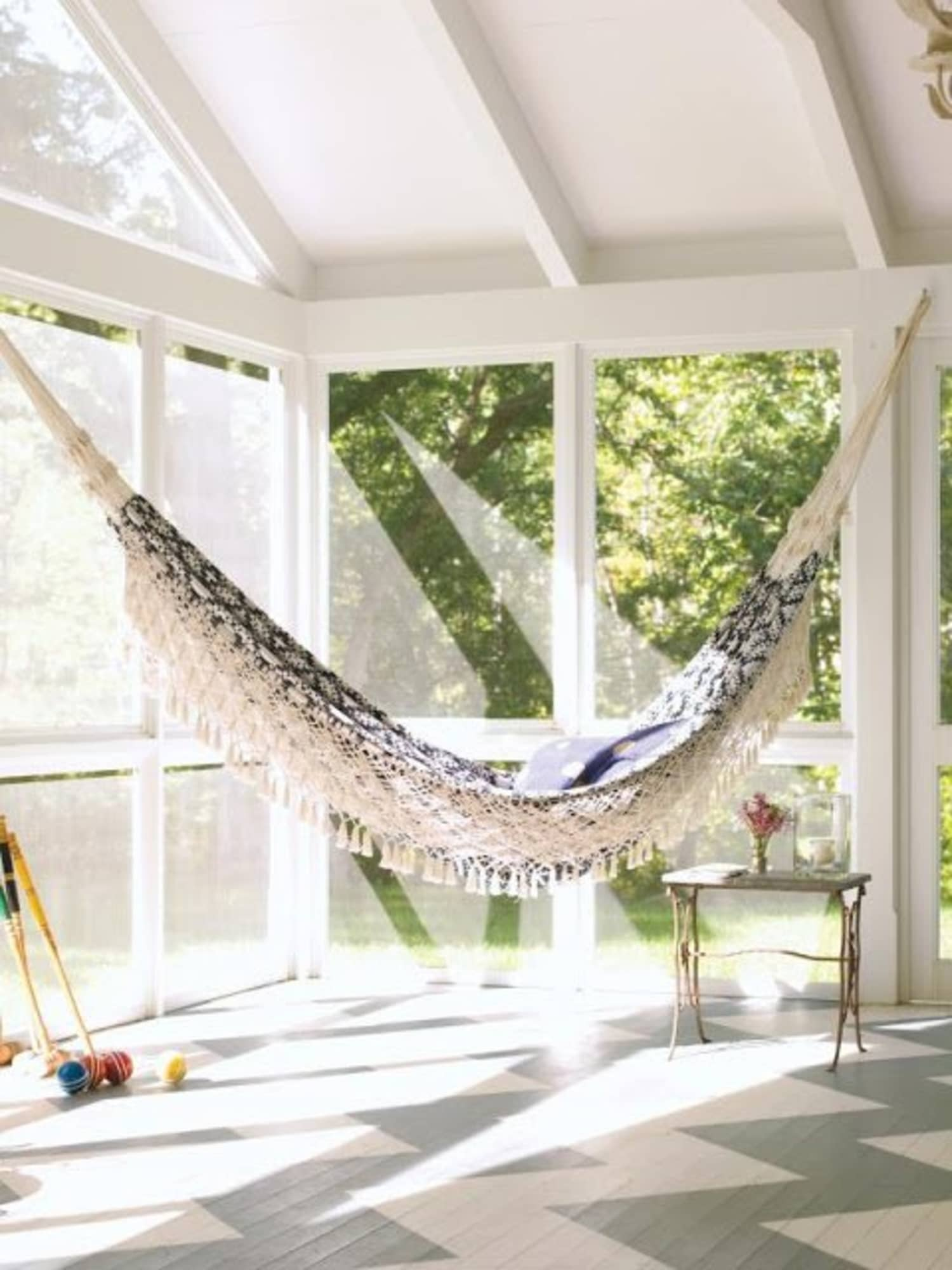 Would You, Could You? A Hammock in the House