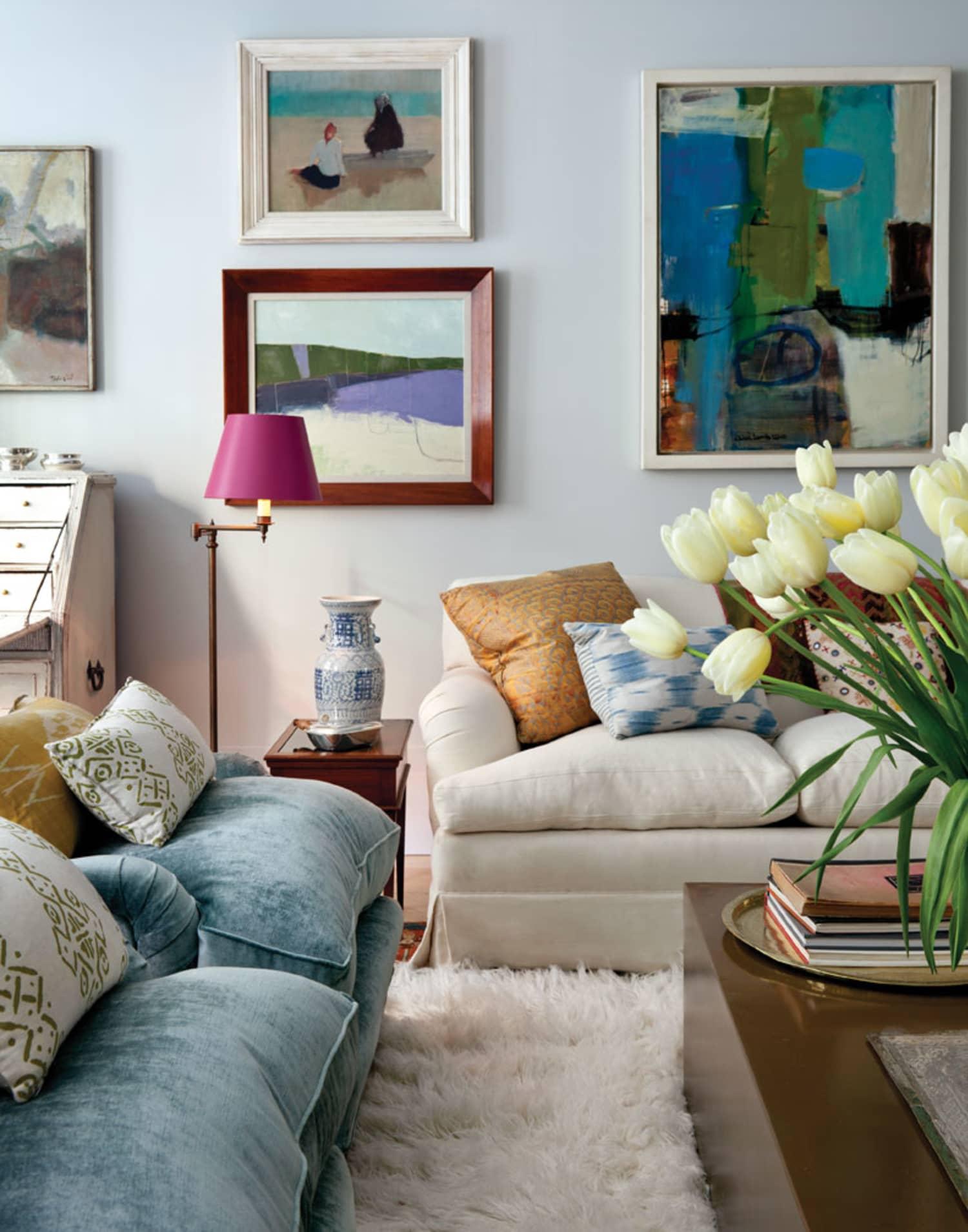 Beautiful Ways to Un-Boring a Big, Blank Wall