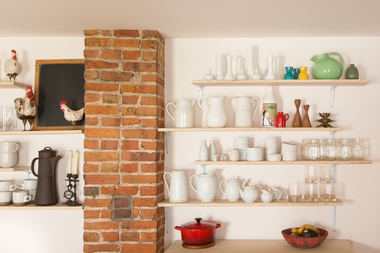 20 New Ways to Use Shelf Brackets You've Never Thought Of