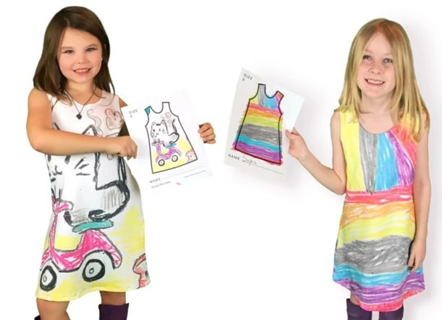 This Site Lets Your Kids Wear Their Artwork