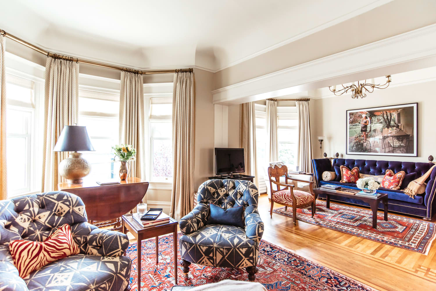 Get the Look: A Worldly Victorian Flat