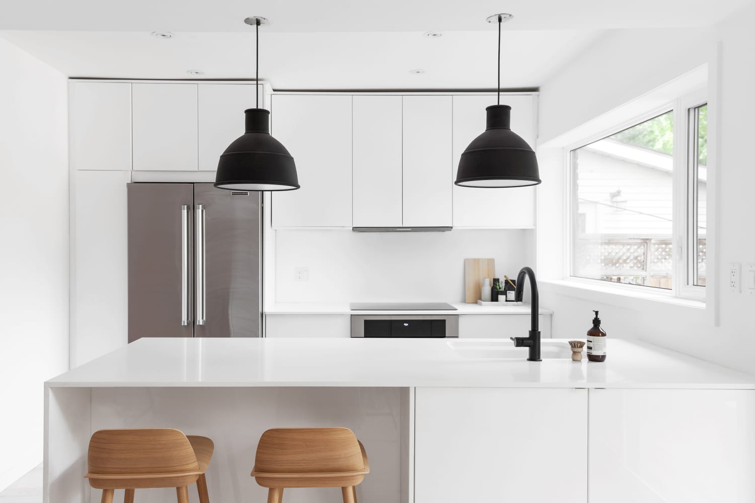 Warm Scandi-Inspired Minimalist Perfection in an All-White Toronto Home