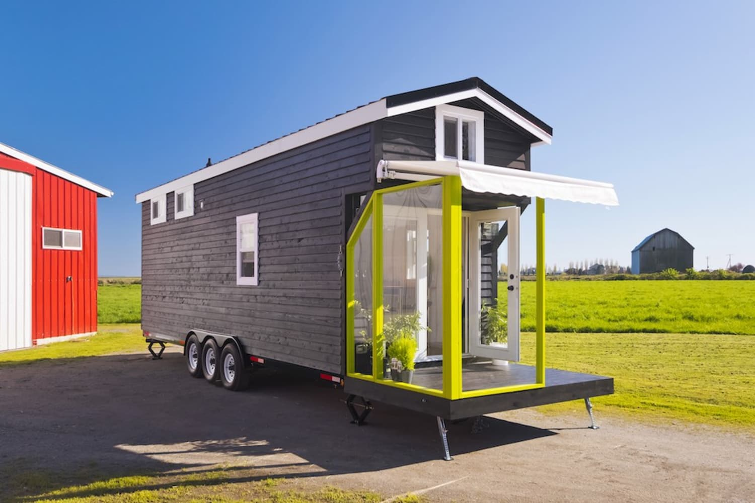 Curious How a 310-Square-Foot Tiny House Can Sleep 8 People?