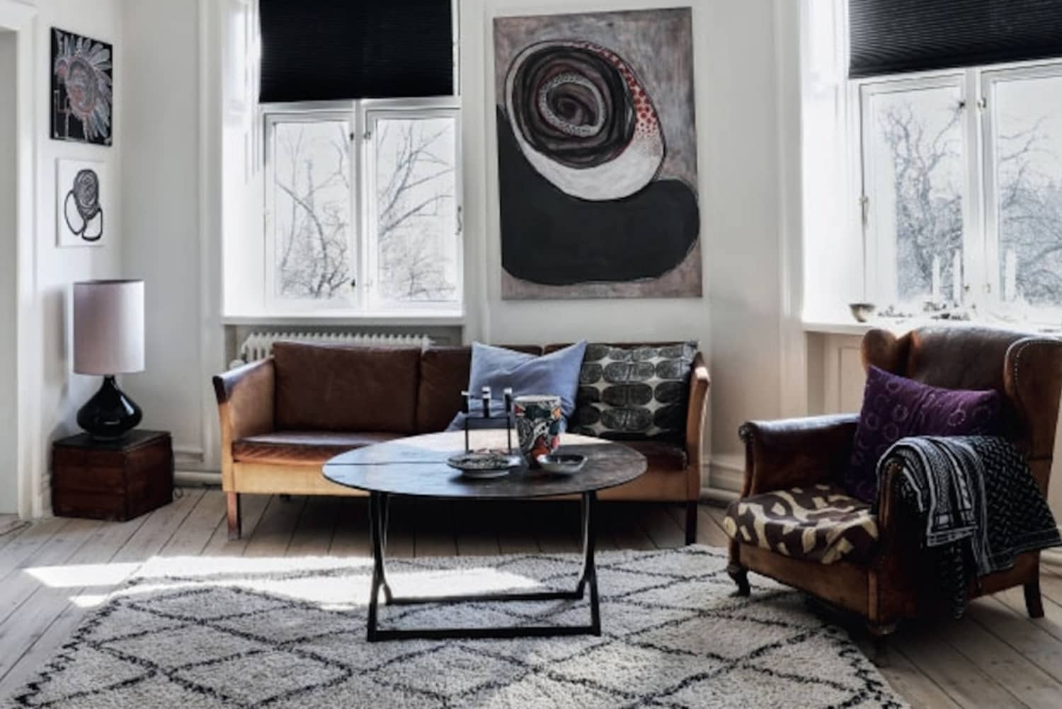 We Can't Get Enough: A Big Gallery of Beautiful Scandinavian Style Living Rooms