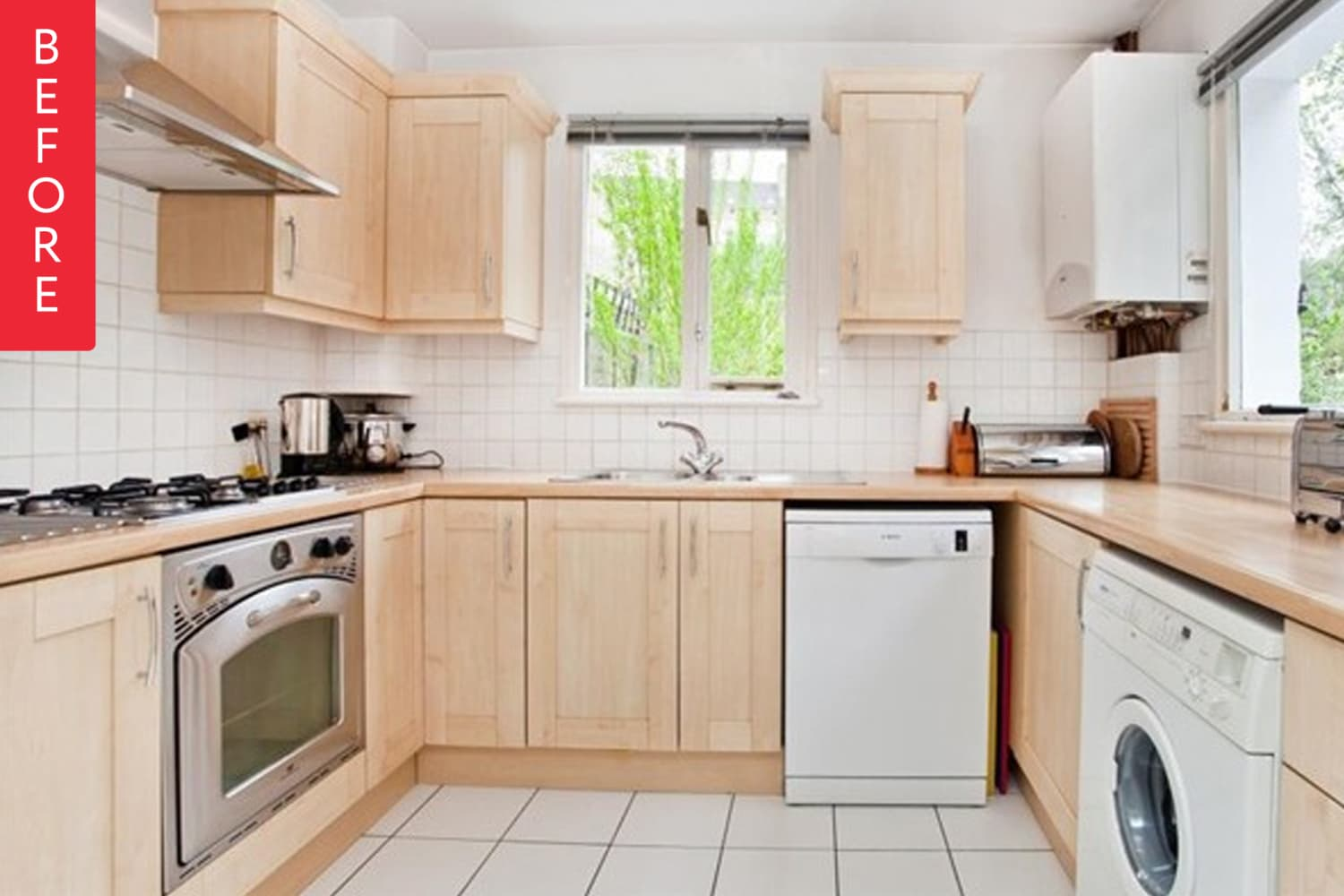 Before and After: A Kitchen Reno That Didn't Break the Bank