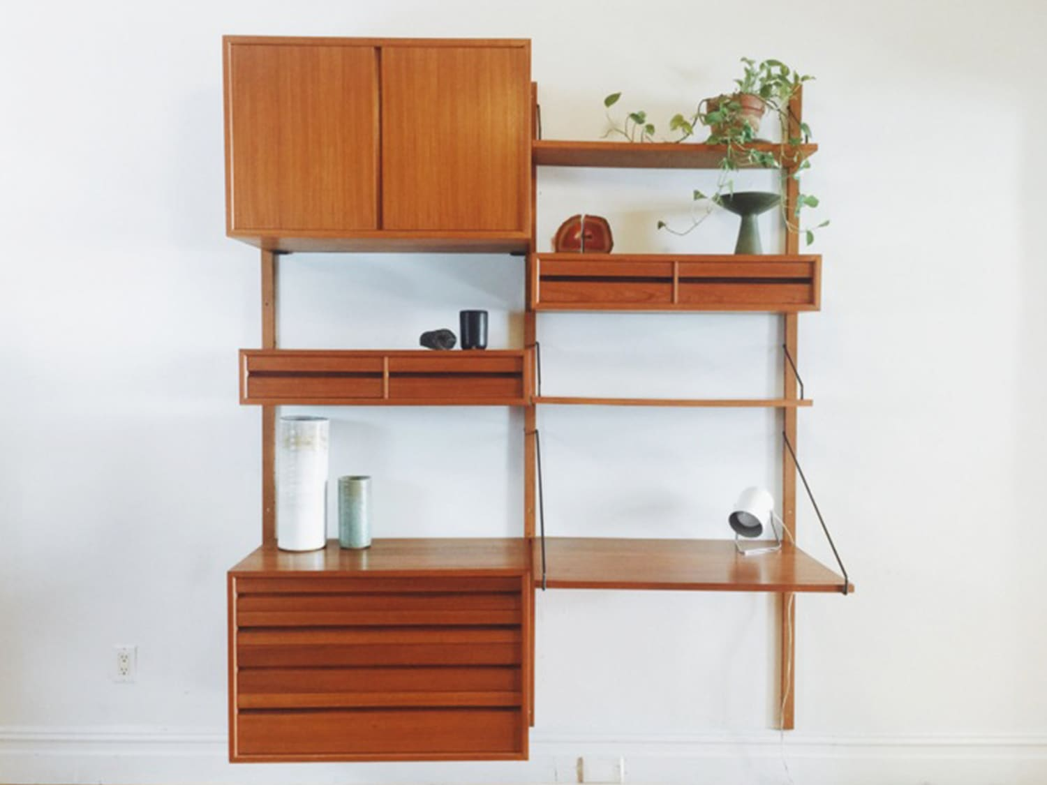 Vintage Mid-Century Wall Units for Every Budget