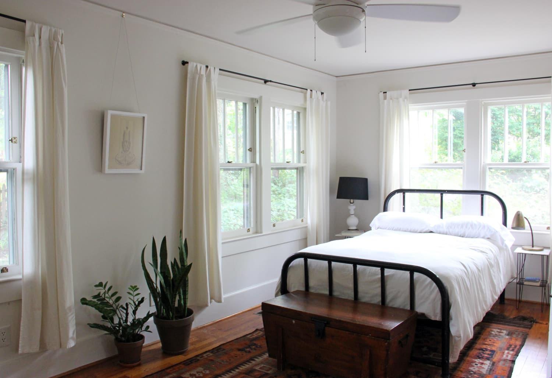 Renter-Friendly Window Treatments That Don't Damage Walls