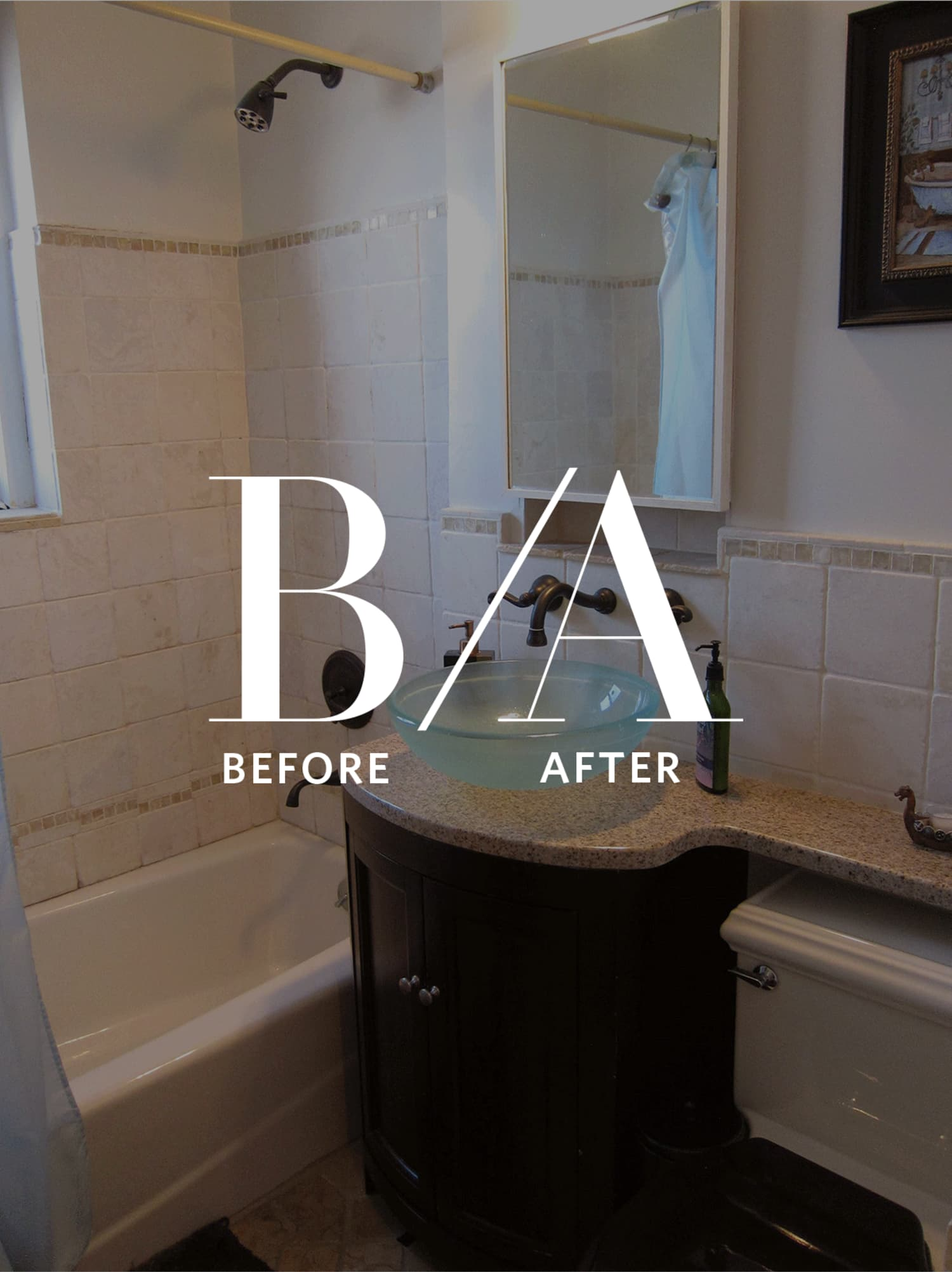 Before & After: A Musty, Dated Bathroom Turns Around