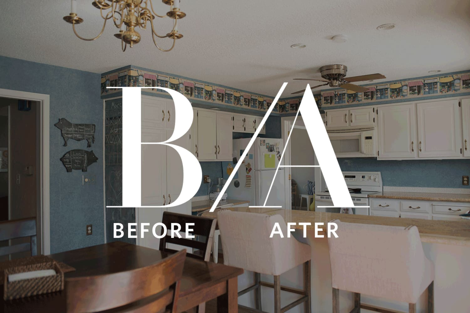 Before & After: A Stunning DIY Kitchen Update for 15k