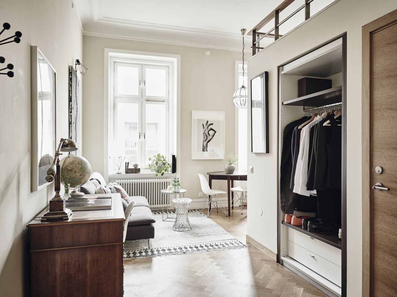 A 365-Square-Foot Swedish Apartment (With a Killer Kitchen)