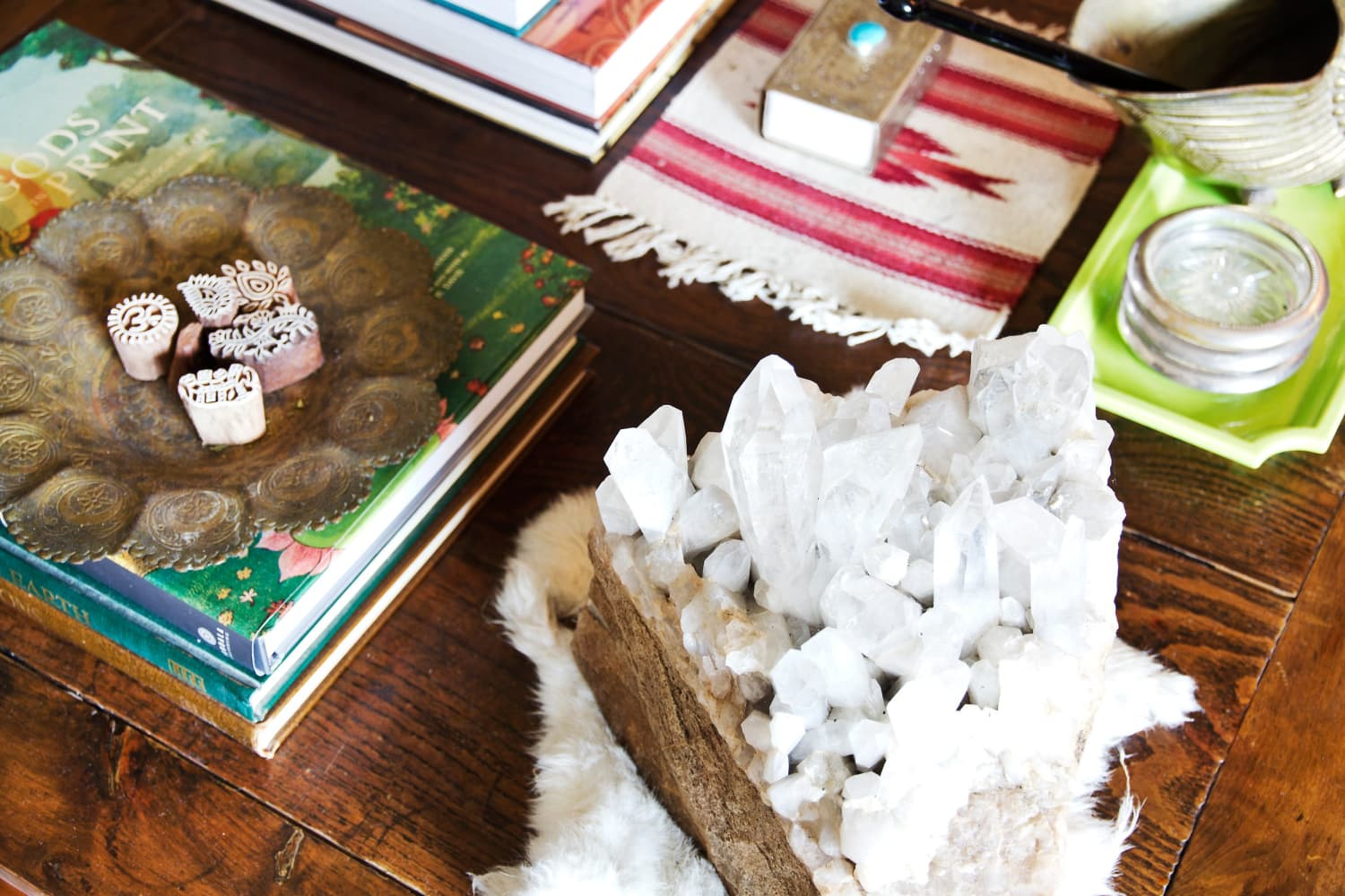 Decorating with Crystals: Totally WooWoo, or Something Worth Considering?