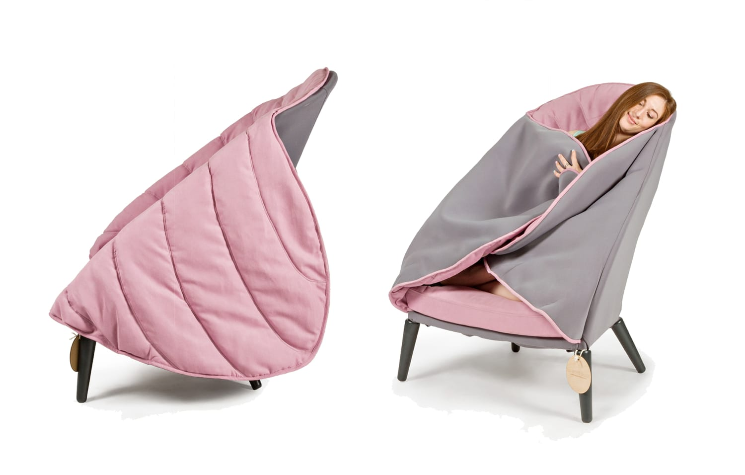 Forget Blankets, Wrap Yourself Up In This Cozy Chair