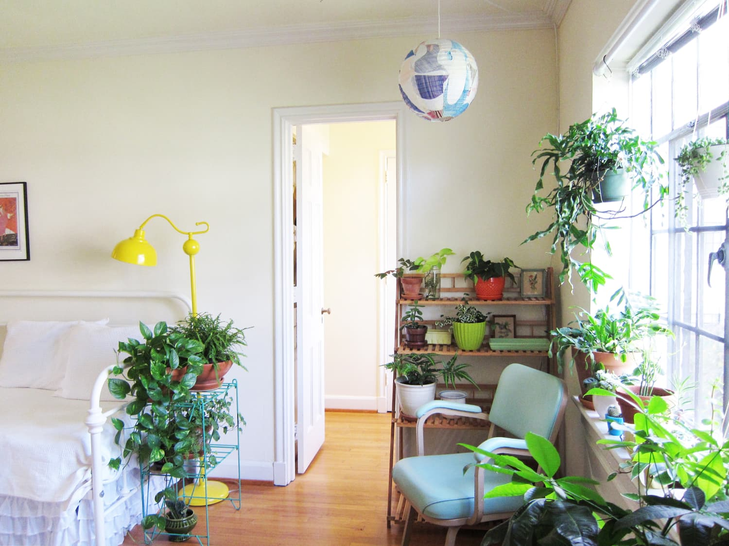 A Small, Sweet & Plant-Filled Apartment in Raleigh