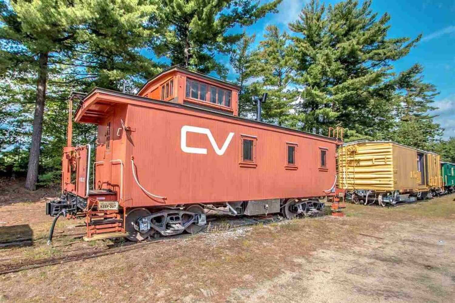 Peek Inside This Converted Caboose Tiny House For Sale
