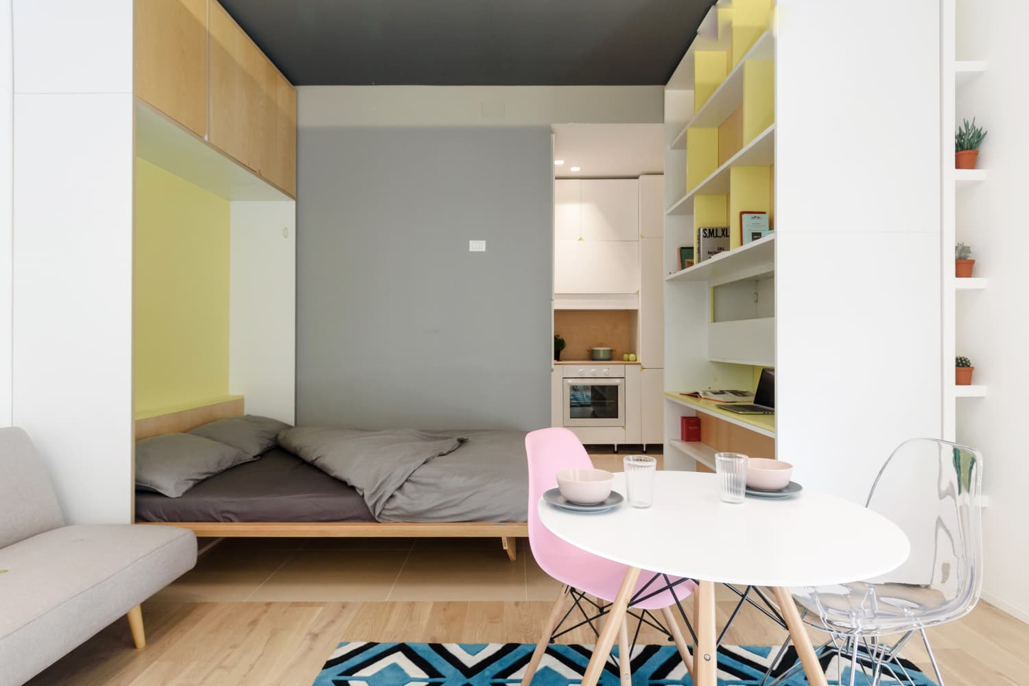 A Tiny Apartment That Transforms Into a Super Efficient Space