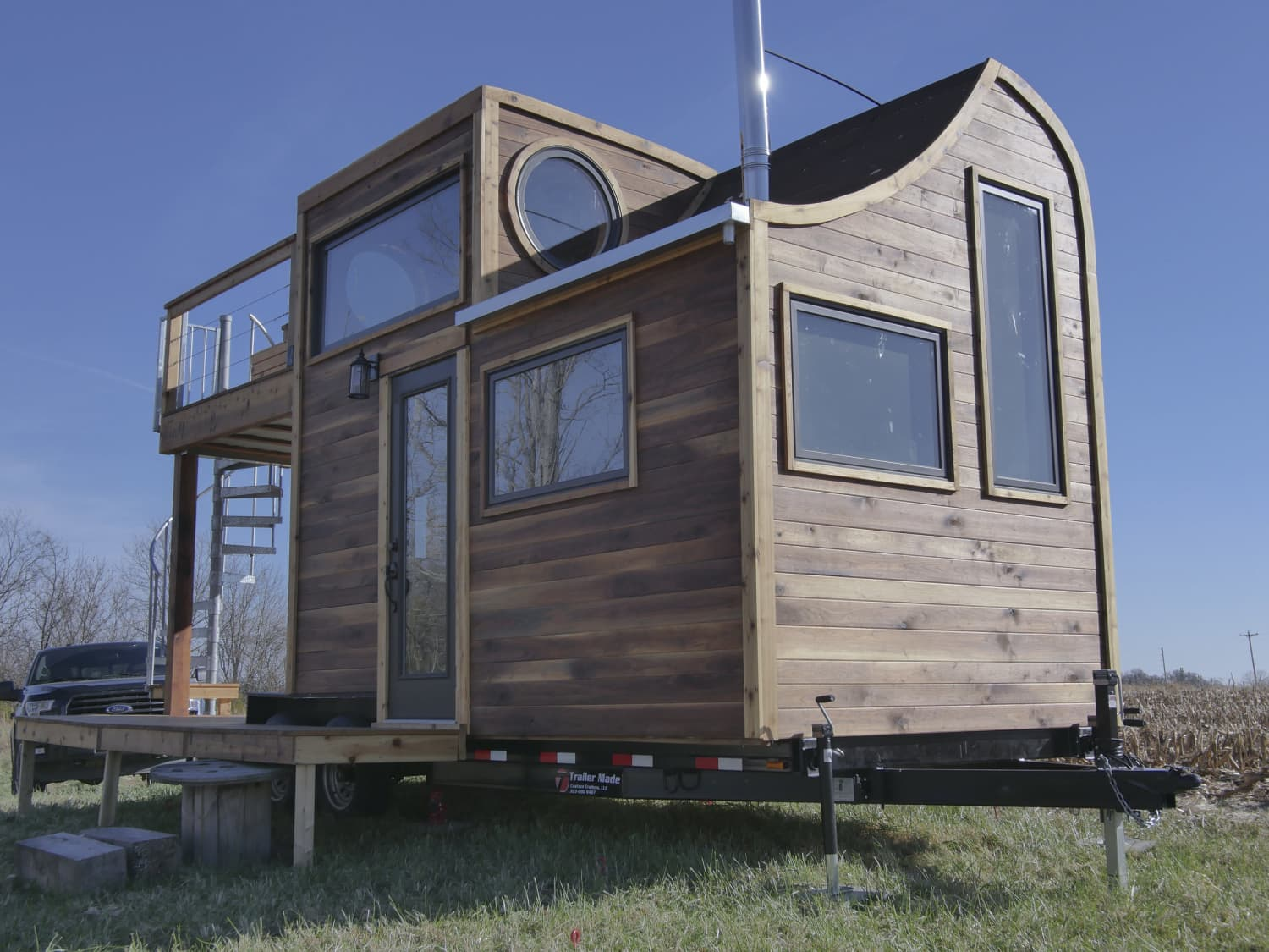 This 187 Square Foot Tiny House Is Built Around a Whiskey Still