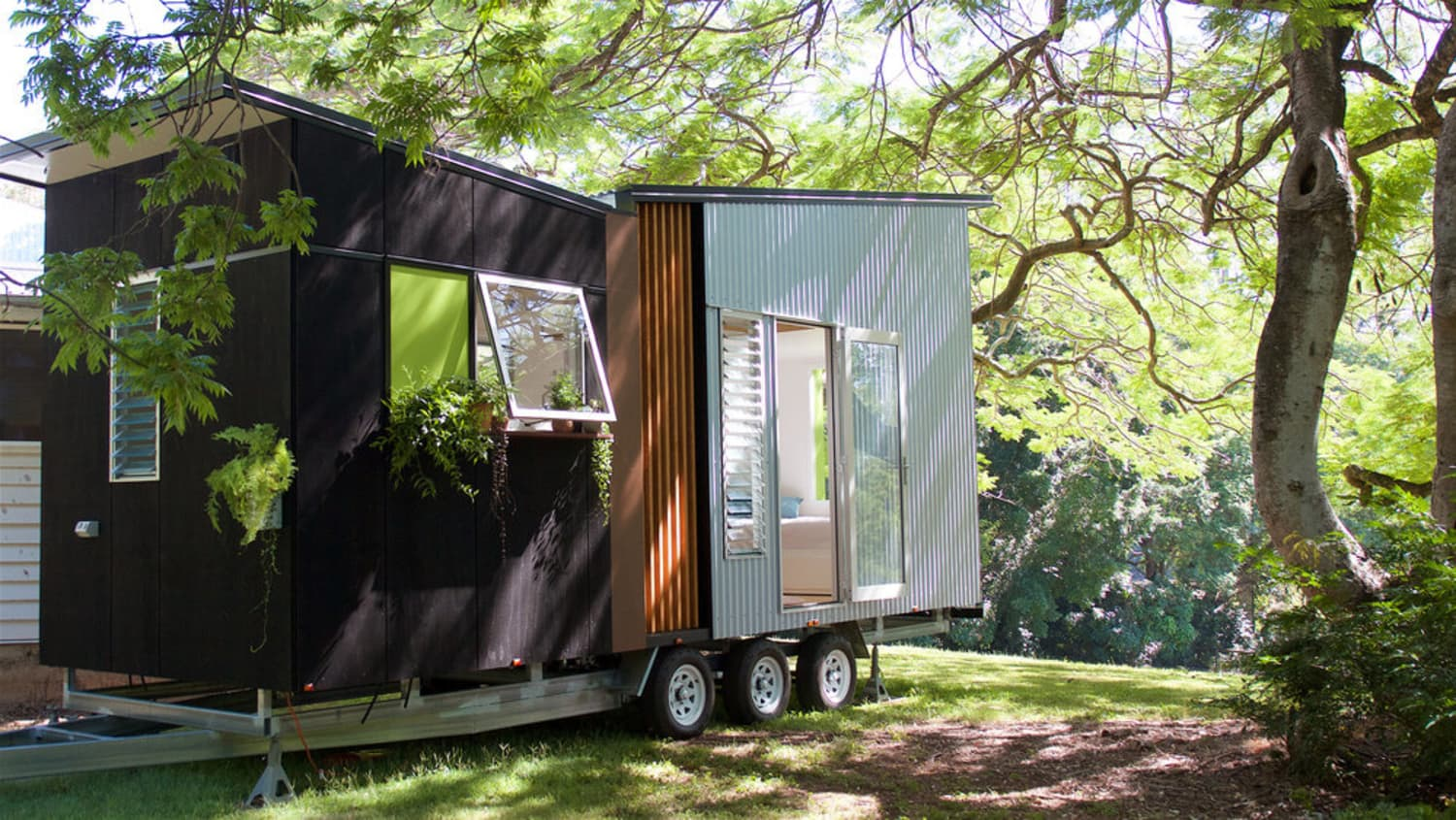 Swallowtail Is the Mid-Century Inspired Tiny House of Your Dreams