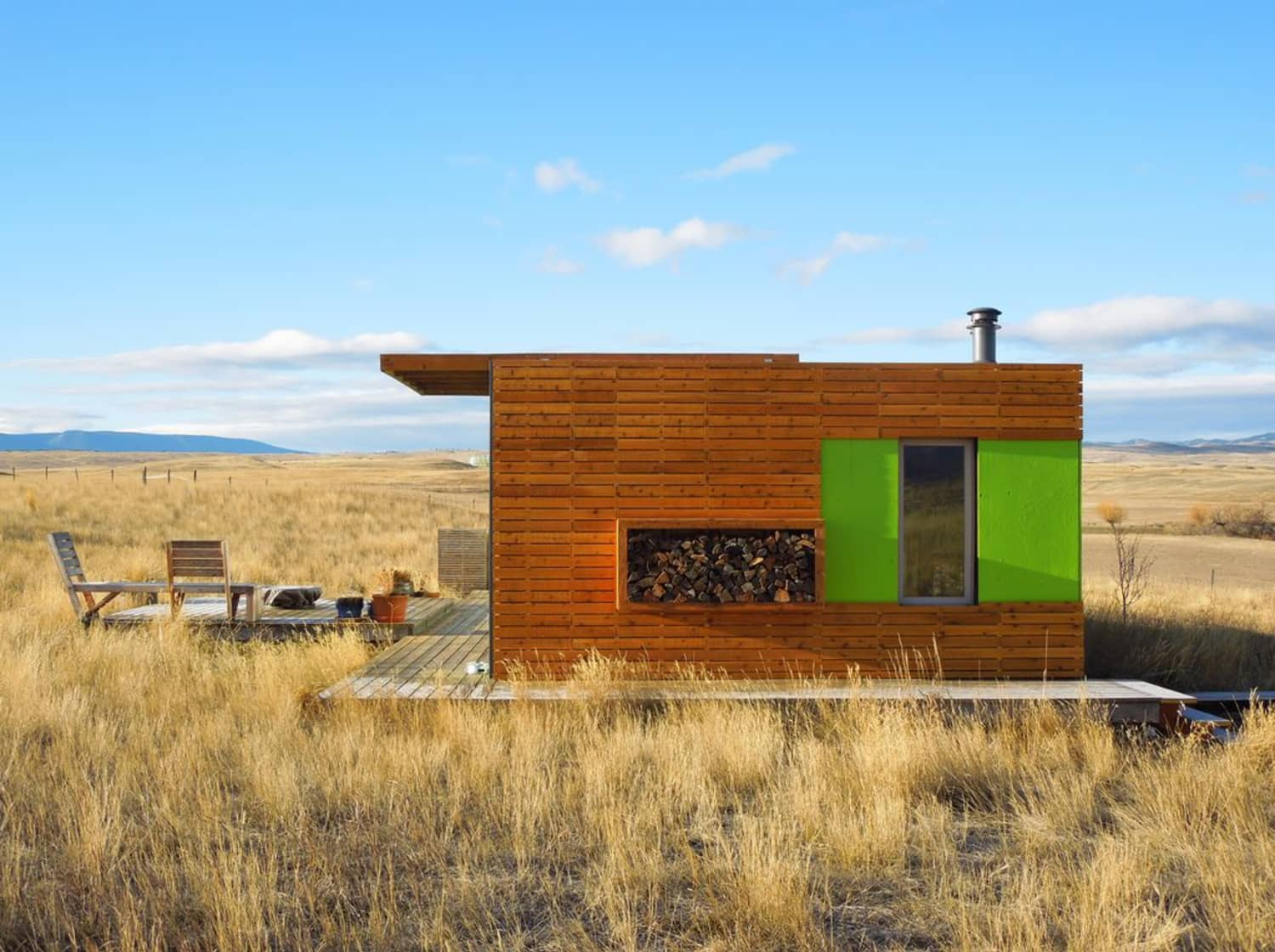 This Double Shipping Container Home Is A Stargazer's Dream