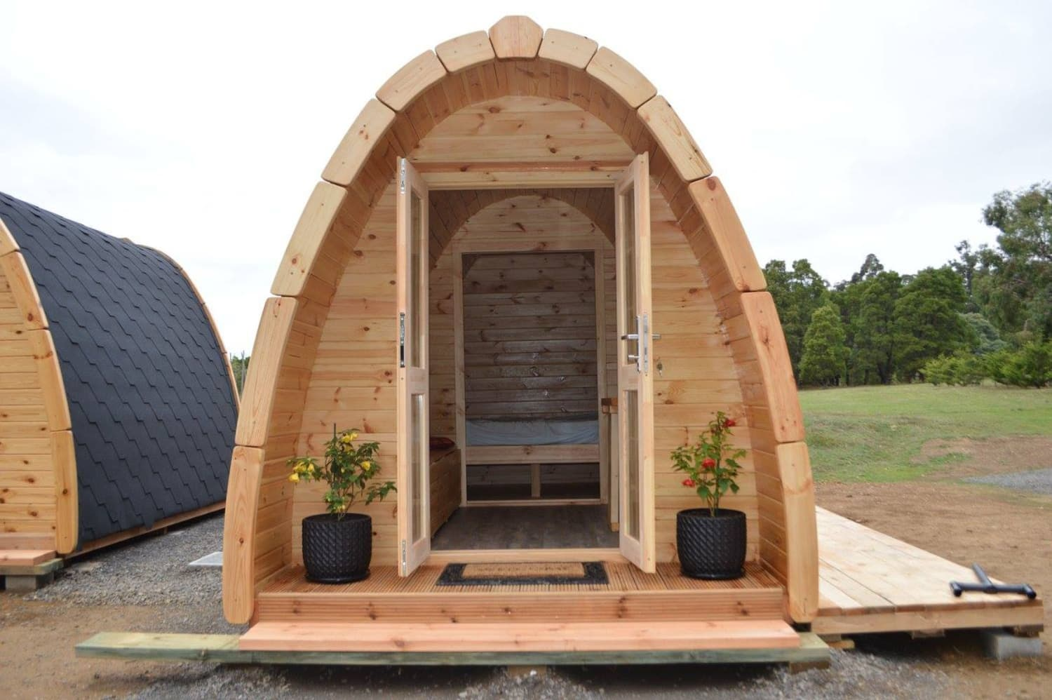 These Tiny Camping Pods Could Be the Next Glamping Trend
