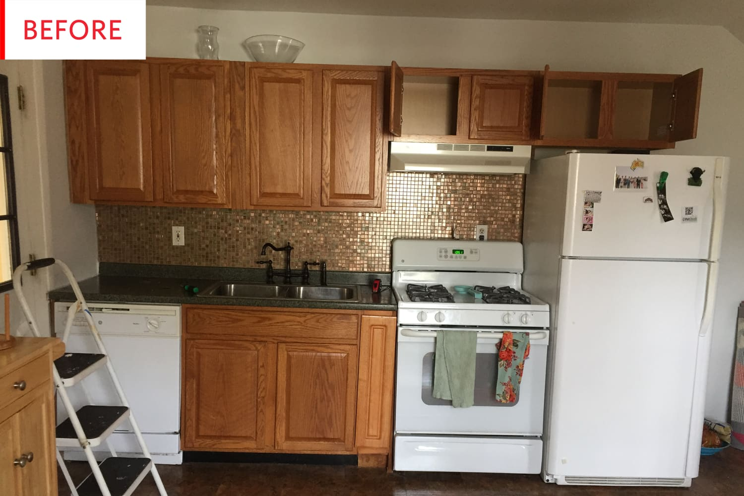 Before and After: An Unbelievable $700 Kitchen Remodel