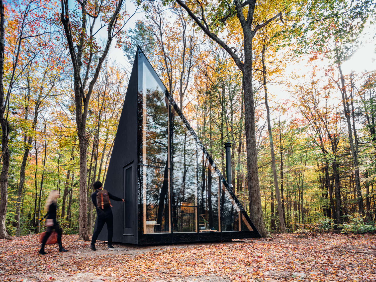 This 182 Square Foot Tiny Cabin Is BIG on Style