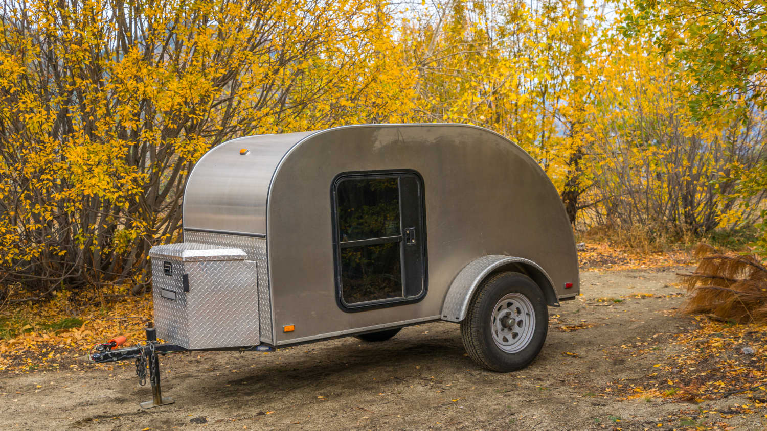 This Guy Built a Teardrop Travel Trailer from Scratch