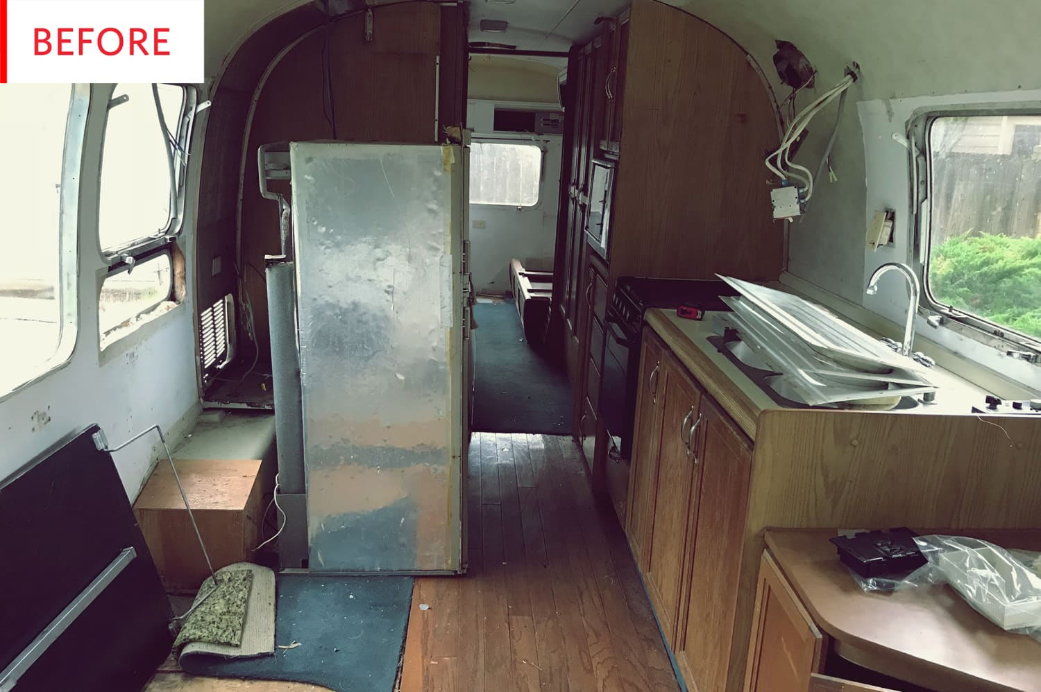 Before and After: This Airstream Reno Is a Total Adventure Inside and Out