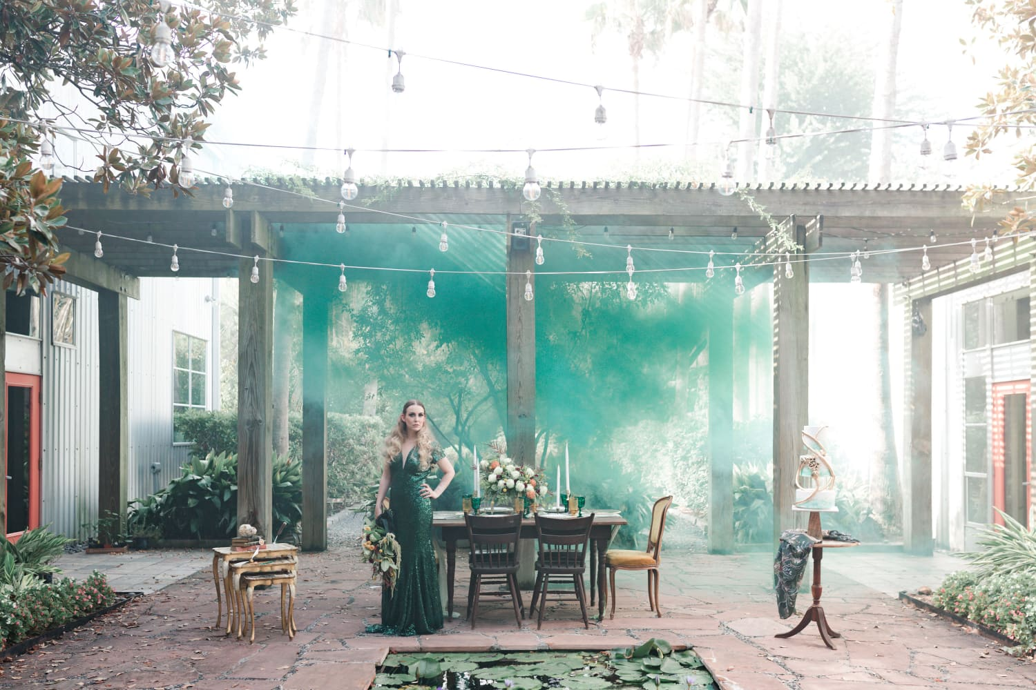 Calling All Slytherins: Here's the Wedding Photo Shoot of Your Dreams