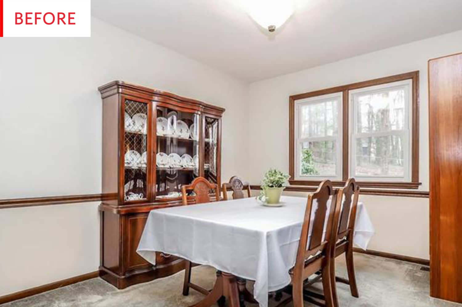 Before and After: This Bold Dining Room Only Cost $150 to Completely Redo