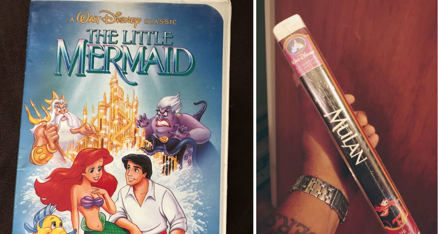 Check Your Parent's House – Your Old Disney VHS Tapes Might Be Worth a Fortune