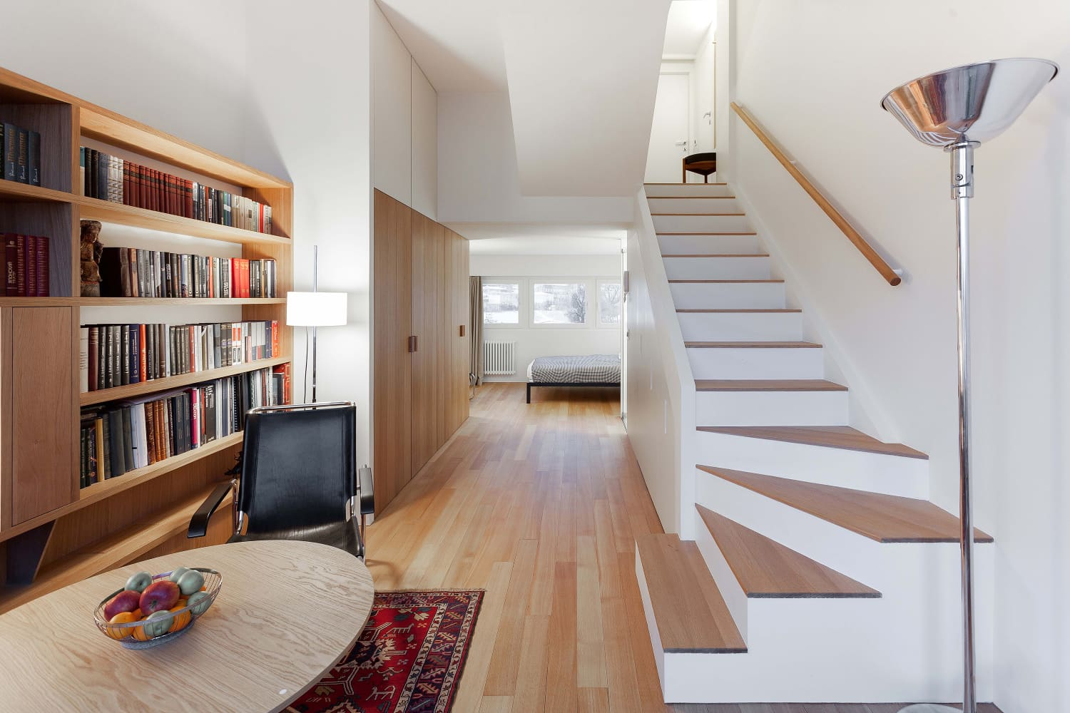This Hallway Hides a Kitchen, Laundry Room, AND Storage