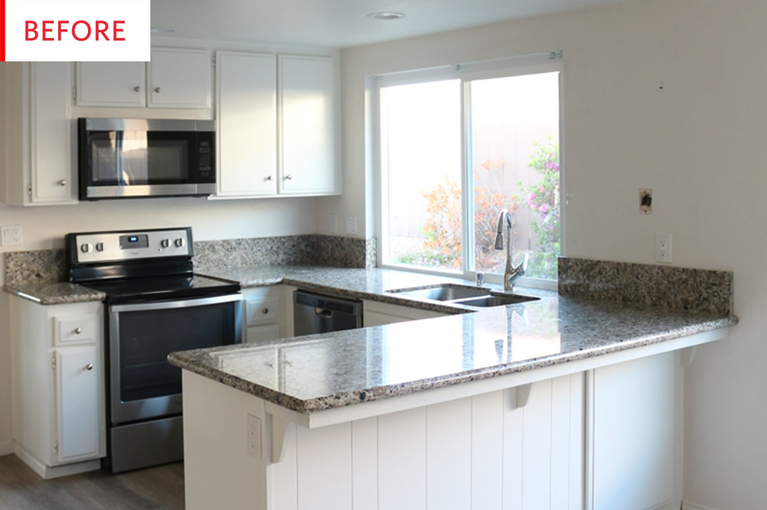 Before and After: This Newly Reconfigured IKEA Kitchen Has a Bit of a Twist