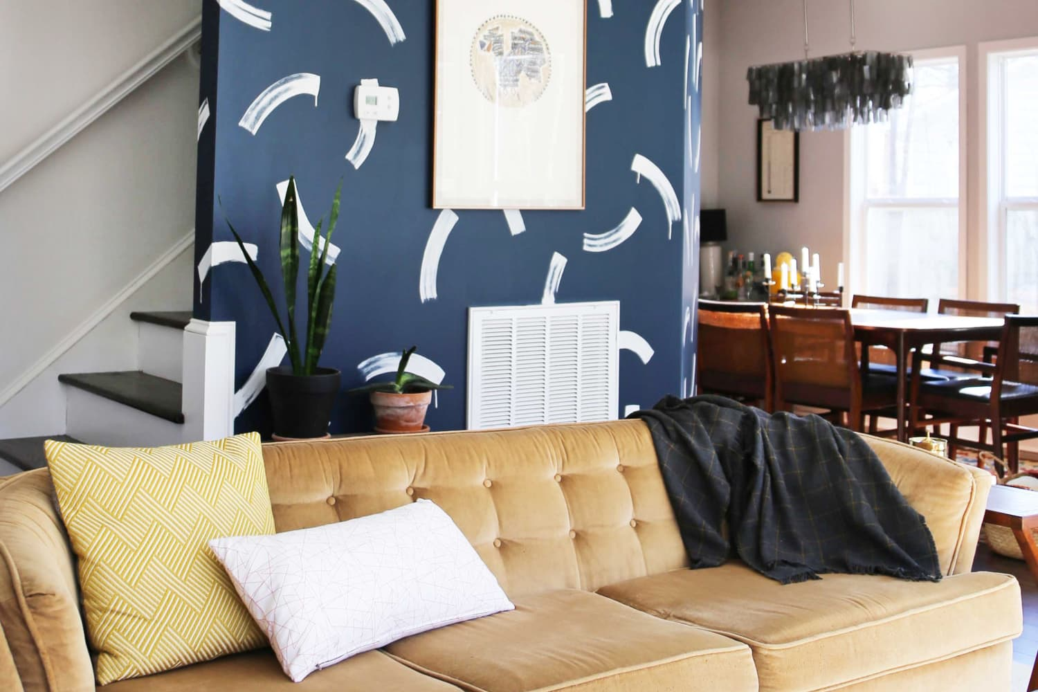 Paint and Personality Transform This Cookie-Cutter New Build House