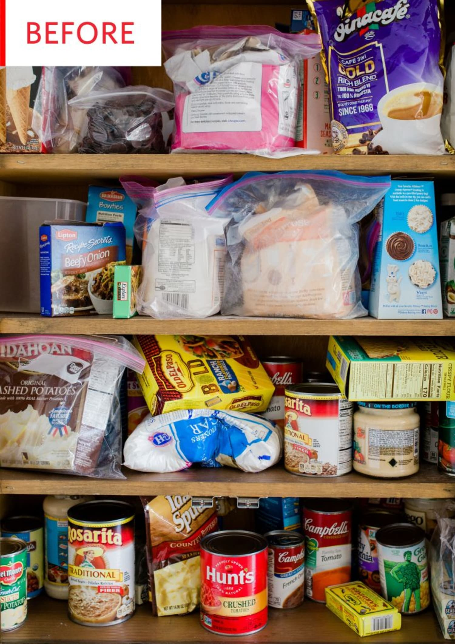 Before and After: How to Organize a Pantry