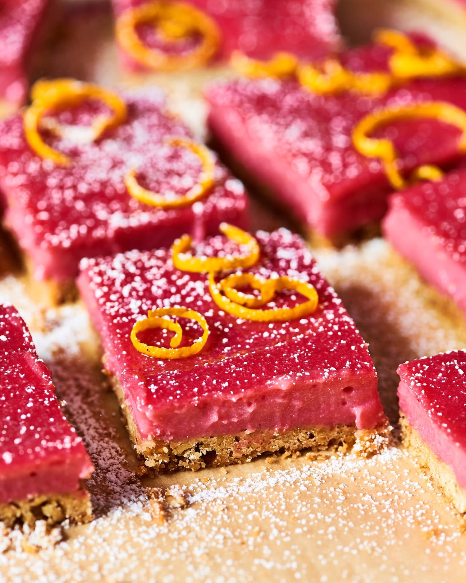Recipe: Cranberry Curd Bars with Walnut Shortbread Crust