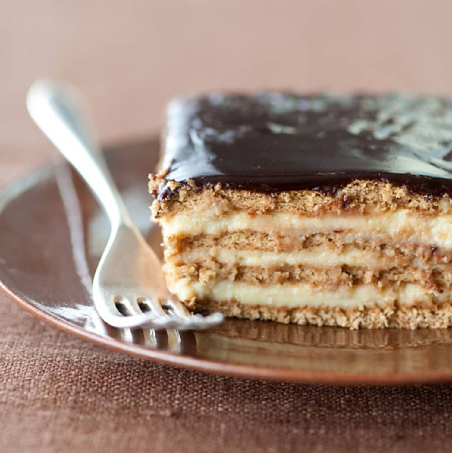 Dessert Recipe: No-Bake Boston Cream Pie Strata