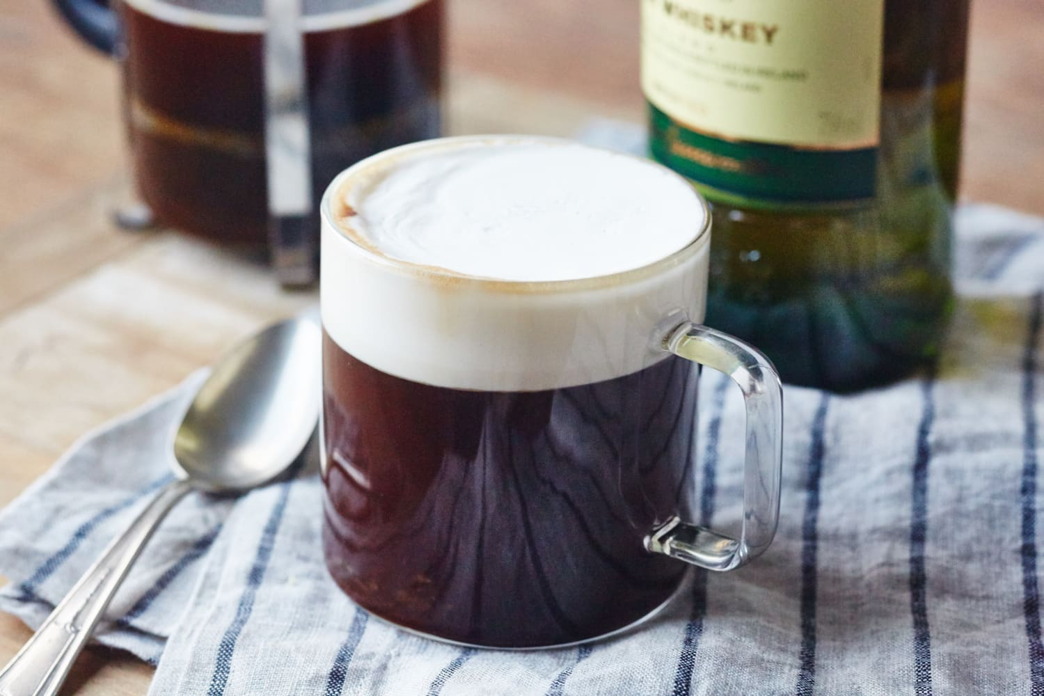 How To Make Classic Irish Coffee